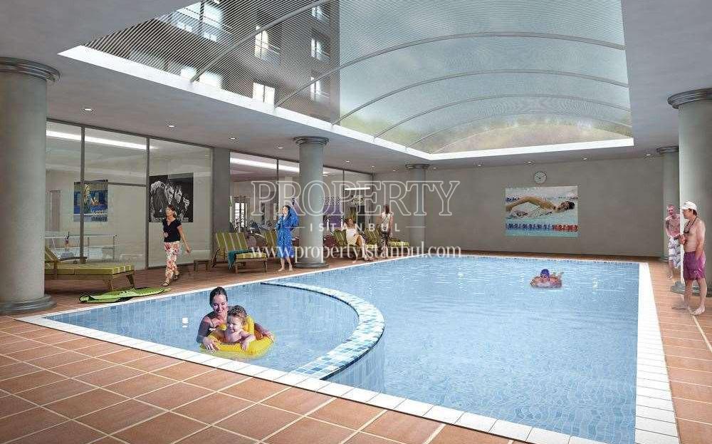 Vizyon Atasehir swimming pool