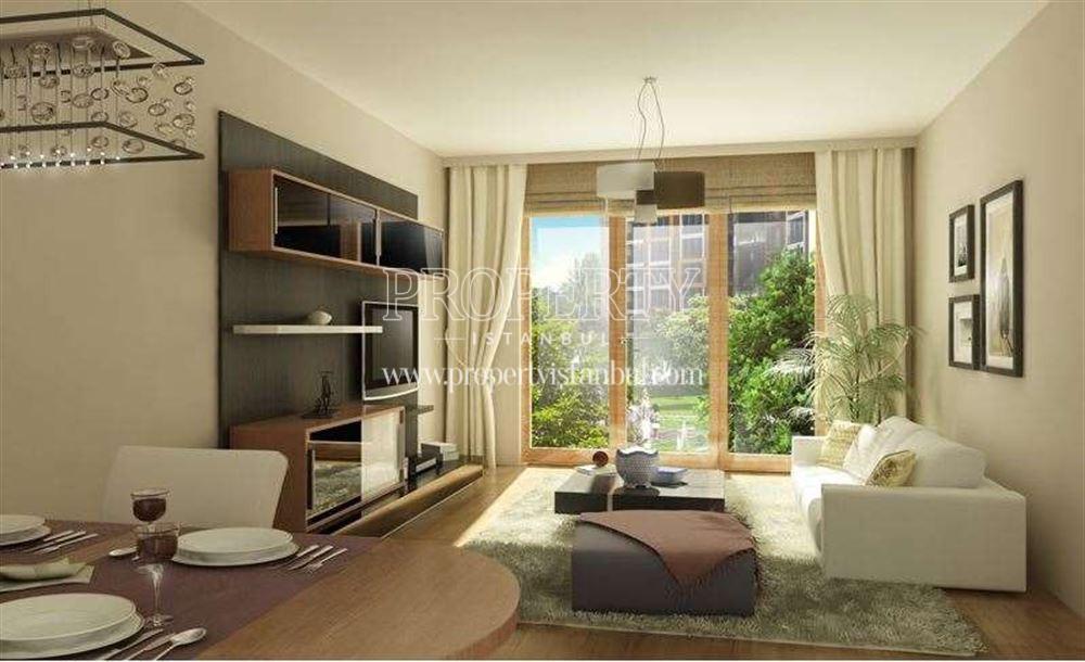 The livingroom of Aktan Terrace Suadiye
