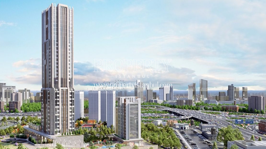 Central Hill Project with other towers