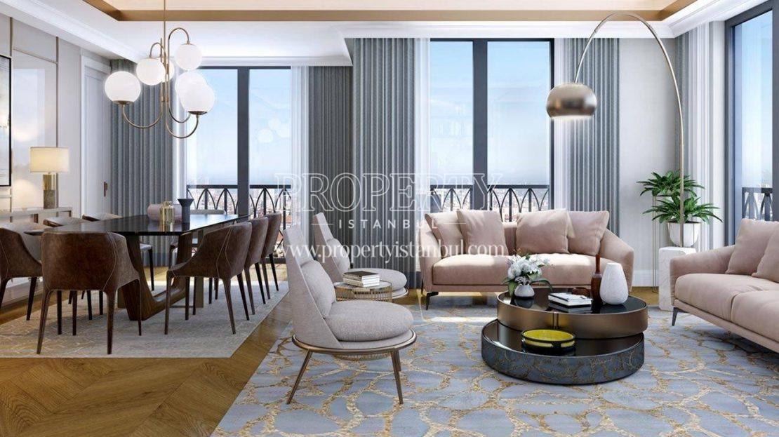 The living room of Nevbahar Istanbul