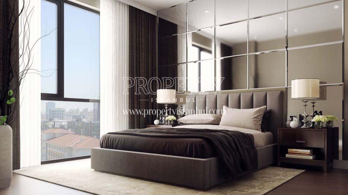 One of the master bedrooms in Flora Topkapi