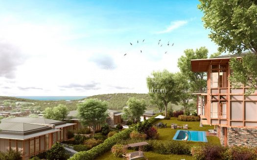 Dusler Vadisi Riva villas with magnificant land view
