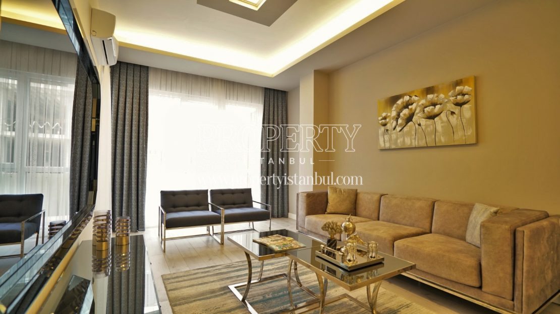One of the living rooms in Brand Istanbul Park