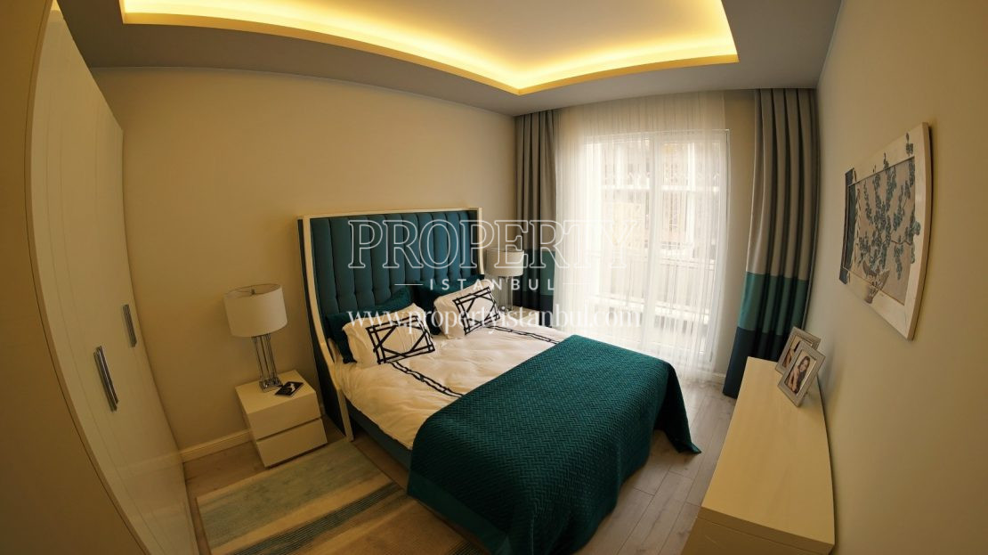Small master bedroom in Brand Istanbul Park