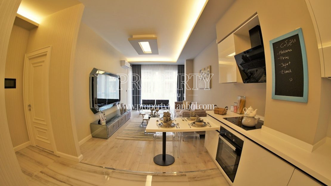 Small apartment in Brand Istanbul Park