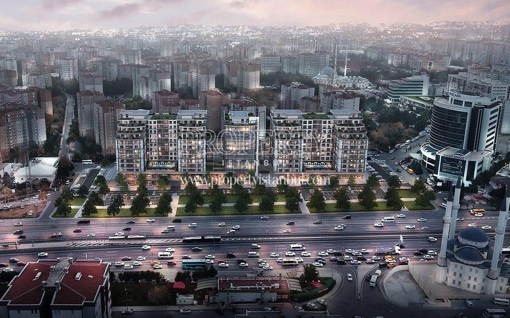 Brand Istanbul Park compound in Beylikduzu district