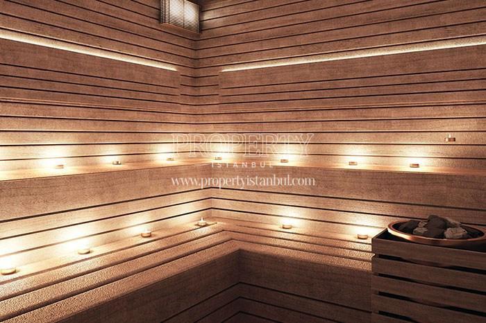 Sauna in Sapphire Hill Kurtkoy