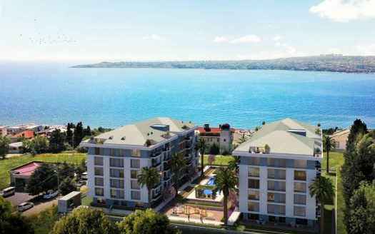 Sea view from Casa Blue Istanbul project