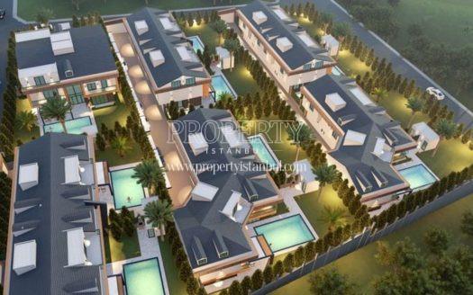 Bunch of villas in in Mavera Villa Etap 2 project